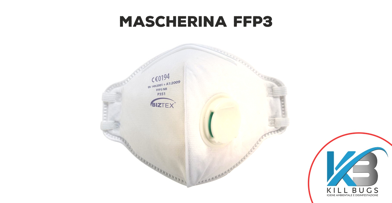 Mascherina FFP3 Palermo