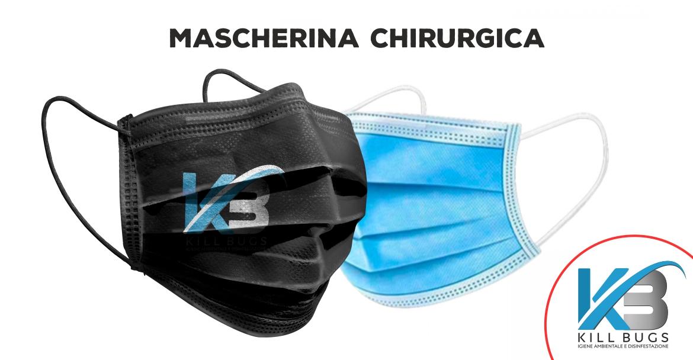 Mascherina chirurgica anti coronavirus Palermo