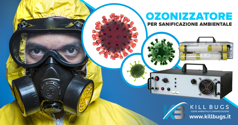 Sanificazione da coronavirus a Palermo